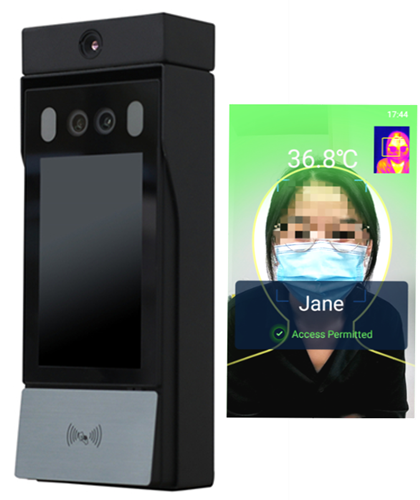 Product picture of fever detection and screening access control solution with accurate human body temperature measurement